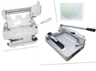 A4 Stack Paper Book Cutter Guillotinewireless Glue Binding Machine Hard Cover M