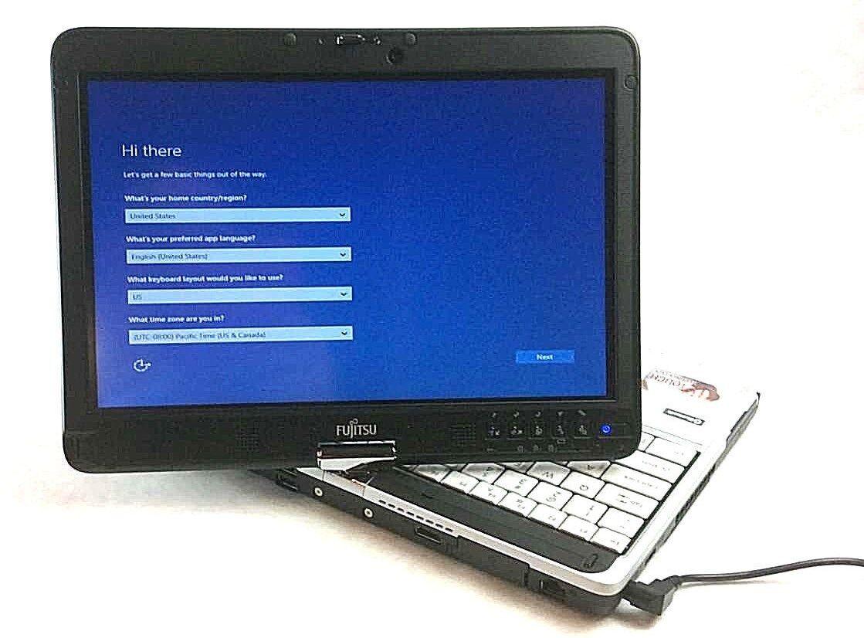 "Fujitsu Lifebook T731 Core i5 12"" Convertible Tablet Laptop 4GB 250GB Windows 10"