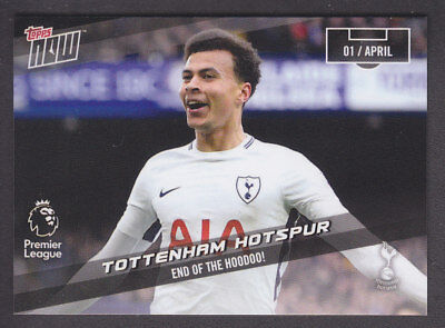 07bf64bd2 Topps Now - Premier League 2017 18 - 144 End Of The Hoodoo! - Tottenham  54