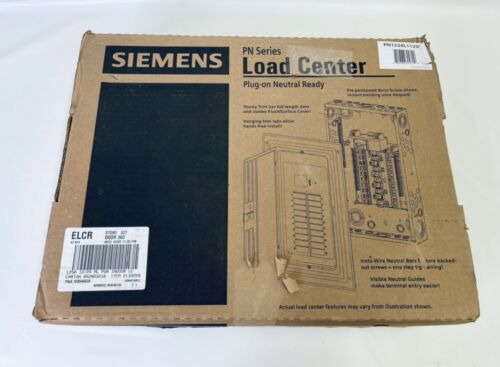 Siemens Galvanized Steel 24-Circuit Main Indoor Load Center Gray 12-Space 125A