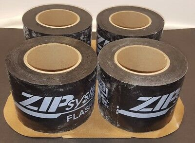 Box Twelve 12 Rolls Of Zip System Seam Sealing - Flashing Tape Best Tape