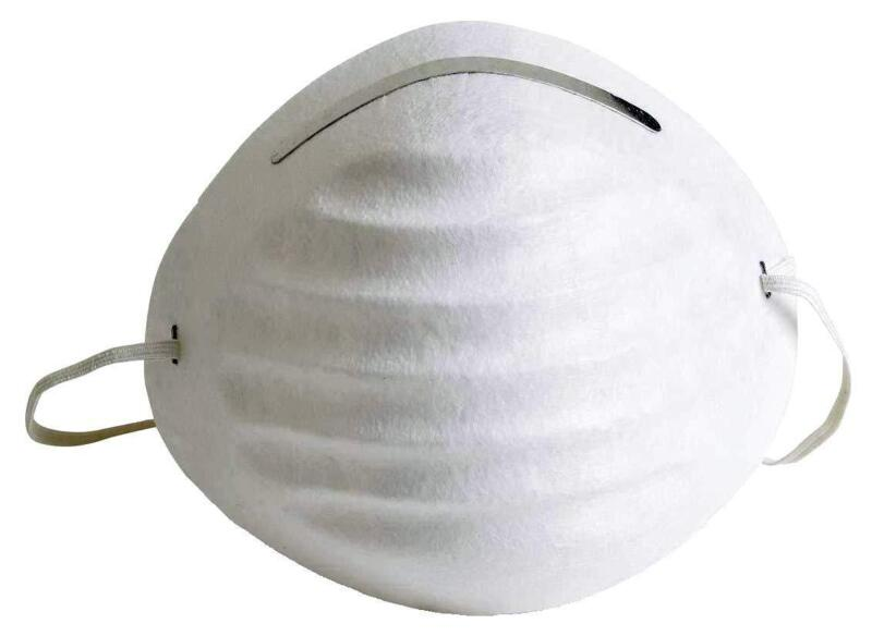 Universal 4528 Non-Toxic Disposable Dust  Filter Safety Mask