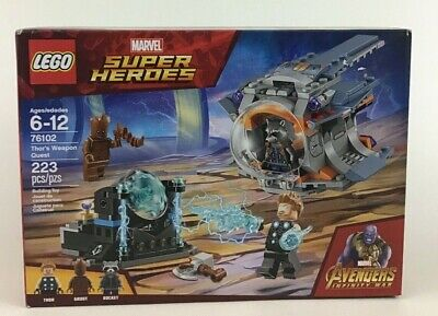 Lego Marvel Super Heroes Thors Weapon Quest 76102 Building Toy Lego Sealed