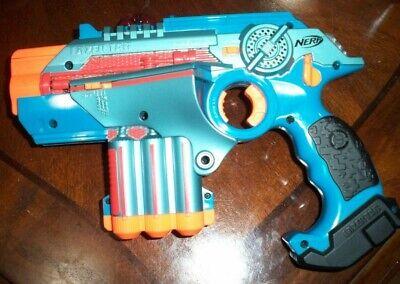 Nerf Phoenix LTX Lazer Tag Blue Gun