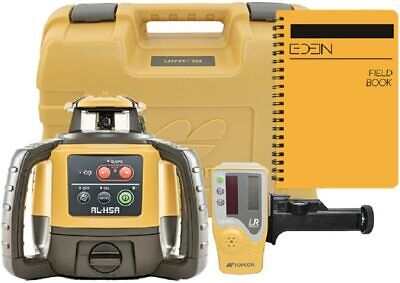 Topcon Rl-h5a Self Leveling Horizontal Rotary Laser With Bonus Eden Field Book