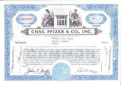 Pfizer & Co., Inc. Chas. Pfizer,1958