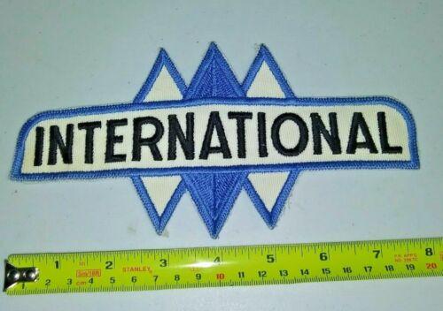 VINTAGE Embroidered Automotive Gasoline Patch UNUSED - INTERNATIONAL large