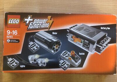 Lego Technic Power Functions Motor Set (8293) New Sealed