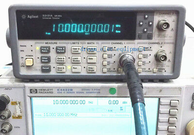 Hpagilent 53131a Opt010030 225 Mhz Universal Frequency Counter