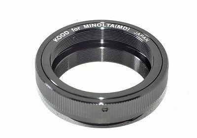 T2 Adaptador Minolta MD Cuerpo A T2 42mm 0.75mm Paso Tornillo Ajuste