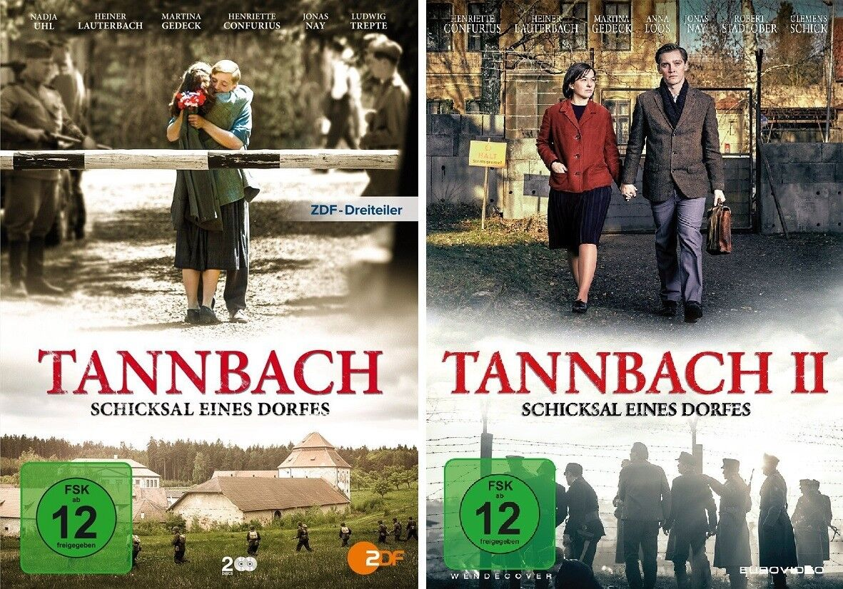 4 DVDs * TANNBACH - SCHICKSAL EINES DORFES 1+2 IM SET # NEU OVP %