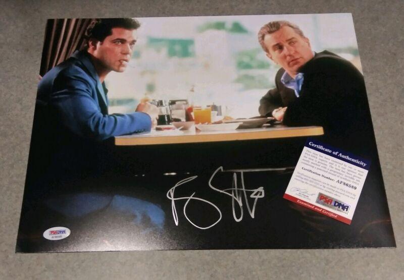 Ray Liotta Signed Autographed Goodfellas Star Movie 11x14 Photo W/ Deniro Psa