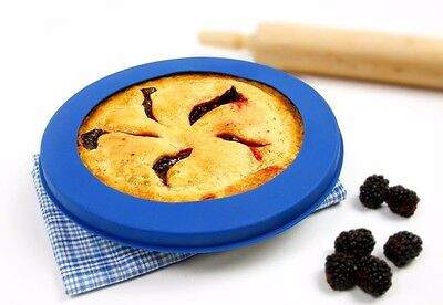 """Norpro 3278 Reusable Silicone Pie Crust Shield up to 10"""" Prevents Crust Burning"""