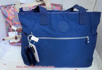 New w Tag Kipling LIZABETH  Tote Handbag w/Laptop protection
