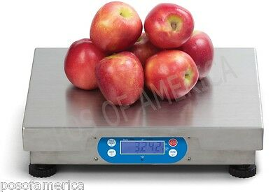 Brecknell 6720u Pos 15 Lbs 240 Oz Bench Scale Bakery Restaurant New
