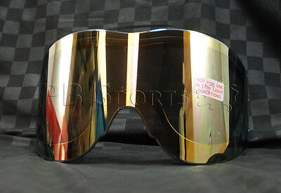 Empire Vents Mirror - Empire Vents Antifog replacement Thermal Lens - Gold Mirror tinted for paintball