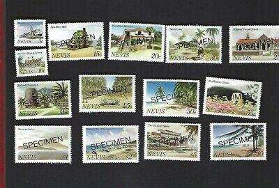 Nevis sc#121-34 (1981) Complete MNH Specimens