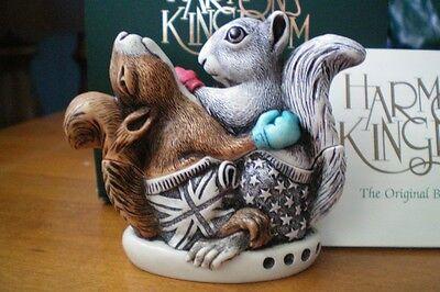 Harmony Kingdom Eyes on the Prize Squirrels UK Made NIB
