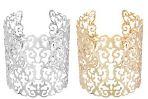 Brand new cuff Bracelets- Silver & Gold available