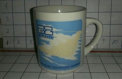 Stealth B2 Bomber Advanced Technology Bomber Color Changing Mug Cup 1988