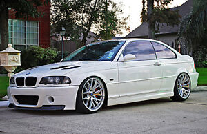 GENUINE Miro111 19x8.5 19x9.5 Wheels 5x120 CONCAVE hellaflush BMW e60 e92 M3 M5