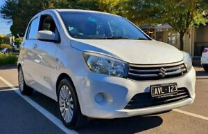 2015 Suzuki Celerio LF White 1 Speed Constant Variable Hatchback South Melbourne Port Phillip Preview