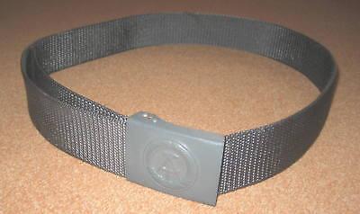 NEUES  Feldkoppel der NVA Anthrazitgrau bis 110 cm einstellbar