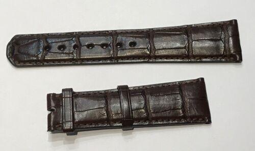 Uhrenarmband LANGE & SÖHNE 22/18 mm Krokodil Braun