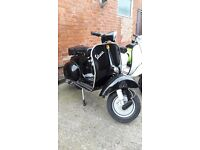 VESPA 150 BLACK (Registered as 125)