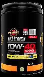 Penrite 10W40 Engine Oil Full Synthetic 20 Litre Drum Liverpool Liverpool Area Preview
