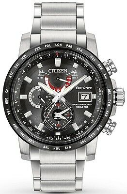 $277.13 - Citizen Eco-Drive World Time A-T Mens Watch AT9071-58E