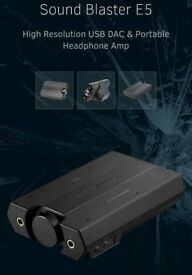 Portable Headphone Amplifier DAC Bluetooth XBOX PS4 192kHz 24bit BNIB