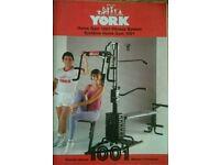 York Home Gym 1001 fitness system