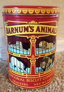 Vintage Animal Cracker Tin