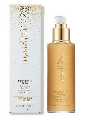 NIB HydroPeptide Nourishing Glow Shimmering Body Oil 3.4 fl oz *SEALED*