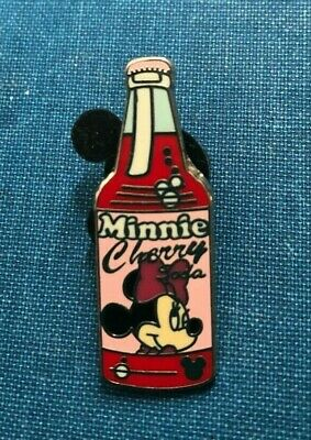 disney trading pin Minnie Mouse Cherry Soda Pop bottle hidden mickey vintage