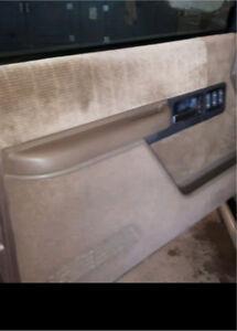 Looking for interior door panels for a 1994 Chevy Silverado