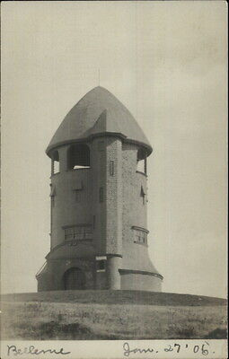 For sale Jamaica Plain MA Bellevue Tower c1905 Real Photo Postcard
