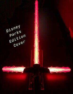 Star Wars Saber Sword (CUSTOM STAR WARS FLAME BLADE LIGHTSABER COVERS for KYLO REN DISNEY PARKS)