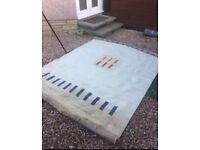 Luxurious cream rug large £25