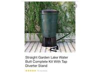 Garden rainwater drum