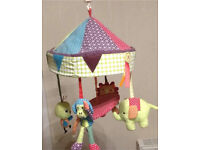 Cot mobile from mamas and papas