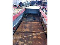 Steel dumb barge for sale