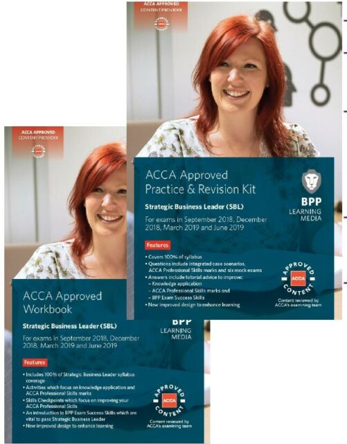 ACCA BPP SBL- Workbook + Practice Kit- Ebook versions (NOT PAPER)- Sept 18  to June 19 sittings   in Notting Hill, London   Gumtree