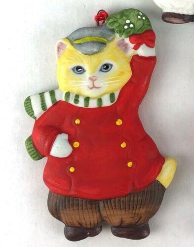 Kitty Cucumber Cat Ornament