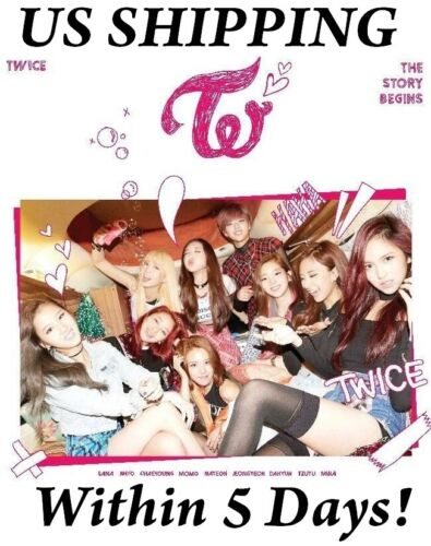 [US SHIPPING] Twice[The Story Begins]1st Mini Album CD+Booklet+Galand+Card