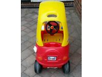 Little tykes cozy coupe car
