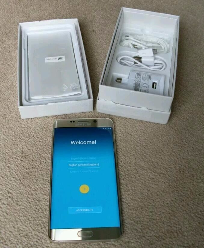 Samsung Galaxy S6 EDGE Plus 32 GBin Redbridge, LondonGumtree - Samsung Galaxy S6 EDGE Plus 32 GB in very good condition comes with box charger and earphones SHIPPING ONLY full refund available 10 days from purchase