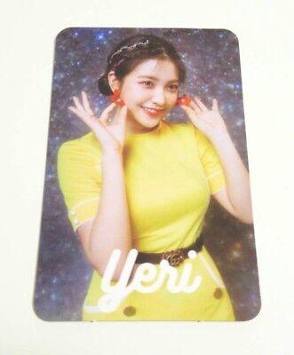Red Velvet Japan 1nd Mini Album #Cookie Jar - Photo Card/Photocard YERI Cookie Jar Japan