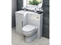 New toilet/ sink combination unit